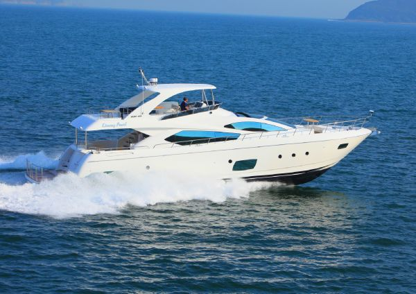 Grand Harbour Motor Yacht Exterior