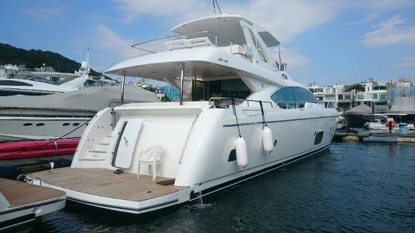 Grand Harbour Motor Yacht AFT