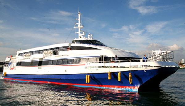 Custom Fast RoPax Ferry