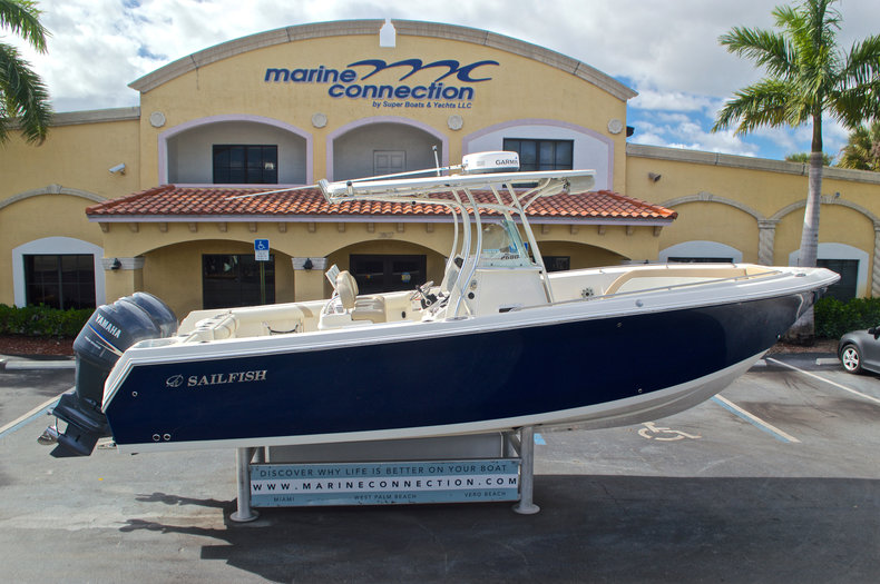 Sailfish 2680 CC Center Console