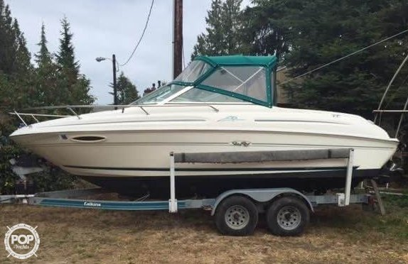 Sea Ray 215 Express Cruiser 1997 Sea Ray 215 EC for sale in Shelton, WA