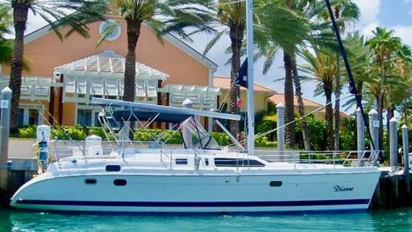 "Hunter Passage 450 ""DIANNE"" in the Bahamas"