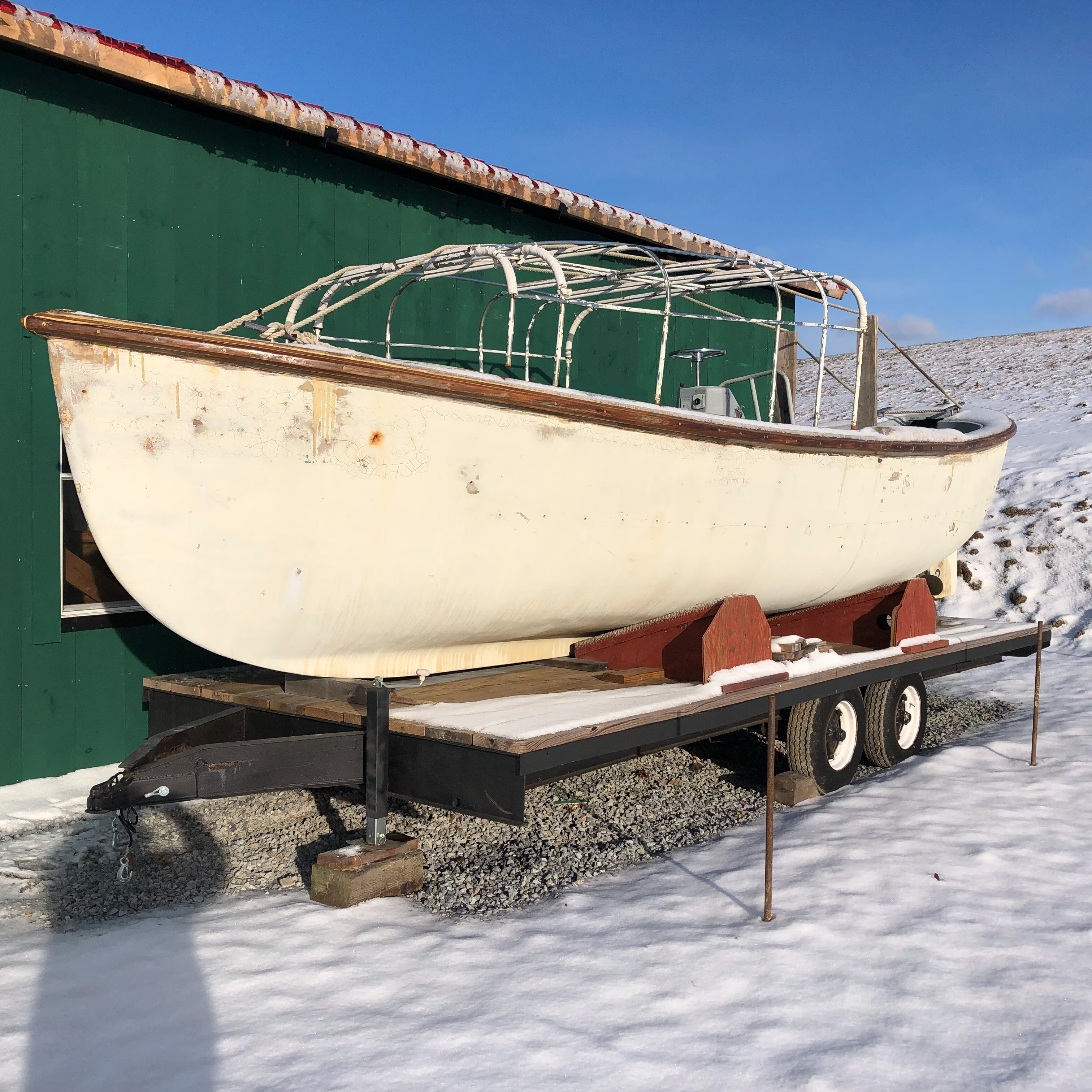 Mason Navy Whaleboat mark 10