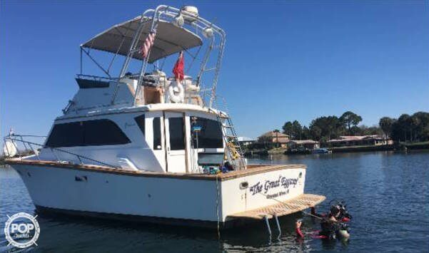 Egg Harbor 35 sport fish 1984 Egg Harbor 35 Sport fish for sale in Crystal River, FL