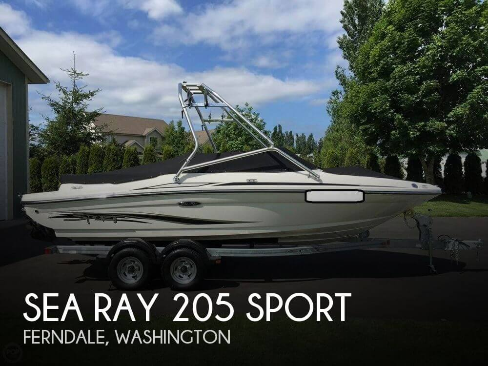 Sea Ray 205 Sport 2012 Sea Ray 205 Sport for sale in Ferndale, WA