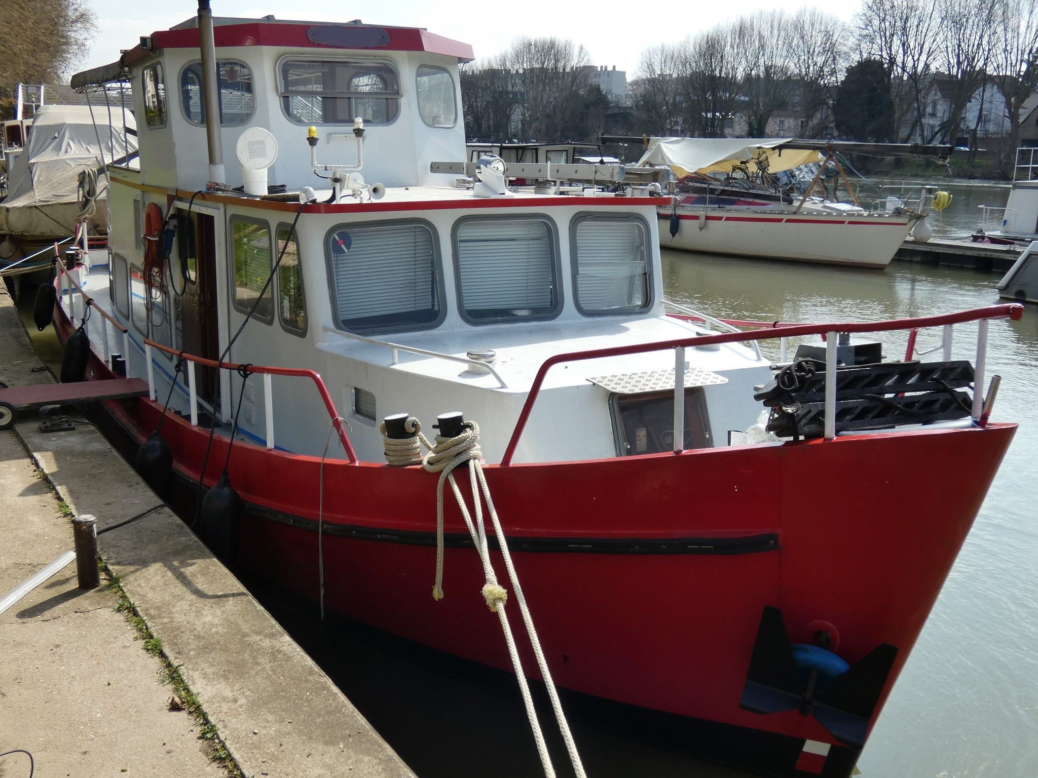 Dutch Steel Motor Cruiser 48ft