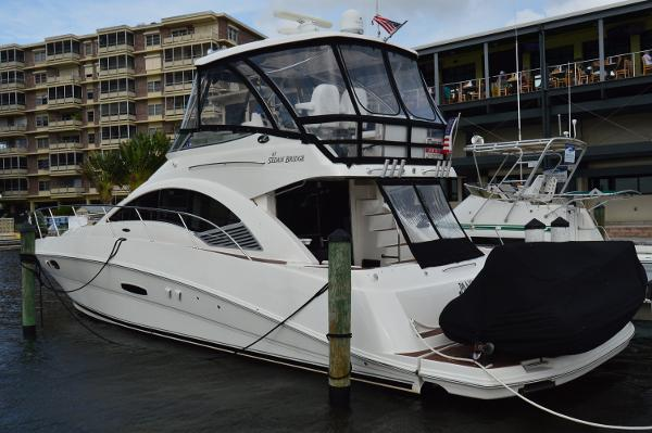 Sea Ray 47 Sedan Bridge Profile