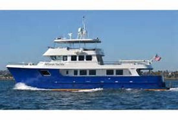 Allseas Expedition Yacht 94' Allseas underway