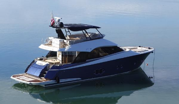 Monte Carlo Yachts 65 Anchoring