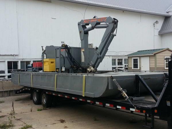 Commercial 28' x 10' Truckable Barge
