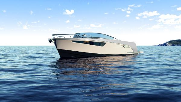 Alfastreet Marine 28 Cabin Electric Manufacturer Provided Image