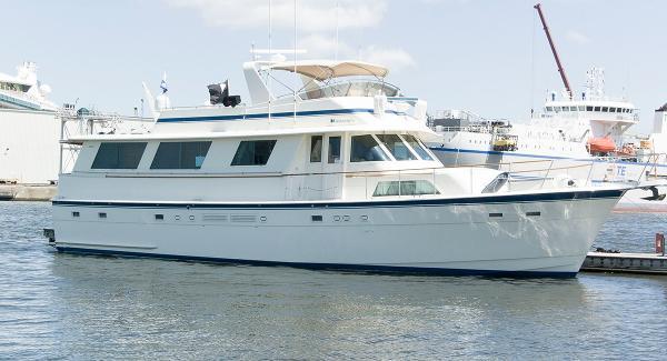 Hatteras 63 Motoryacht Profile