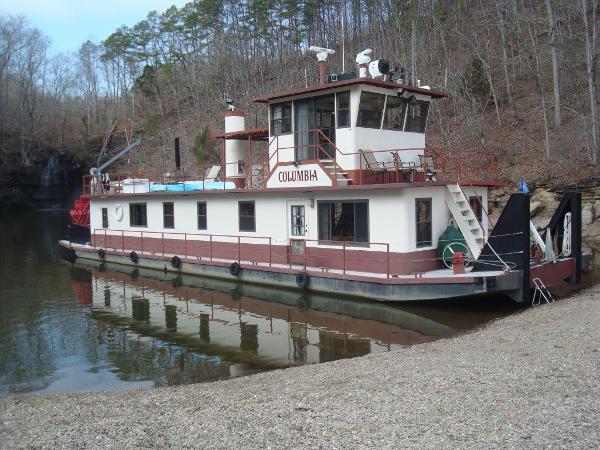1986 Tucker 84 Sternwheeler Paddlewheeler Pickwick Lake