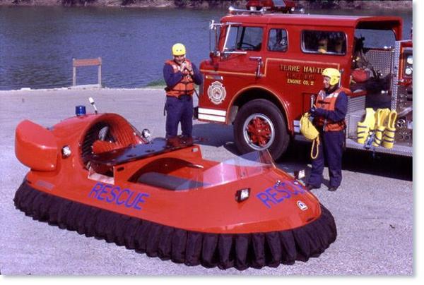Neoteric Hovercraft 3626 Rescue Hovercraft