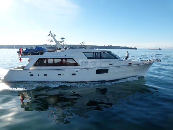 McQueen Pilot House Motor Yacht Profile