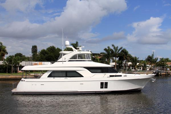 Ocean Alexander 72 Pilothouse Profile Starboard