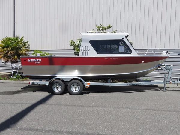Hewescraft Alaskan 240ET RCL