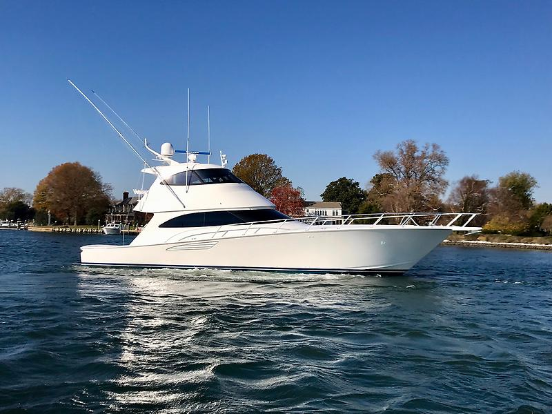 "Viking 62 Enclosed Bridge Convertible 2016 Viking 62 Enclosed ""Noel"""