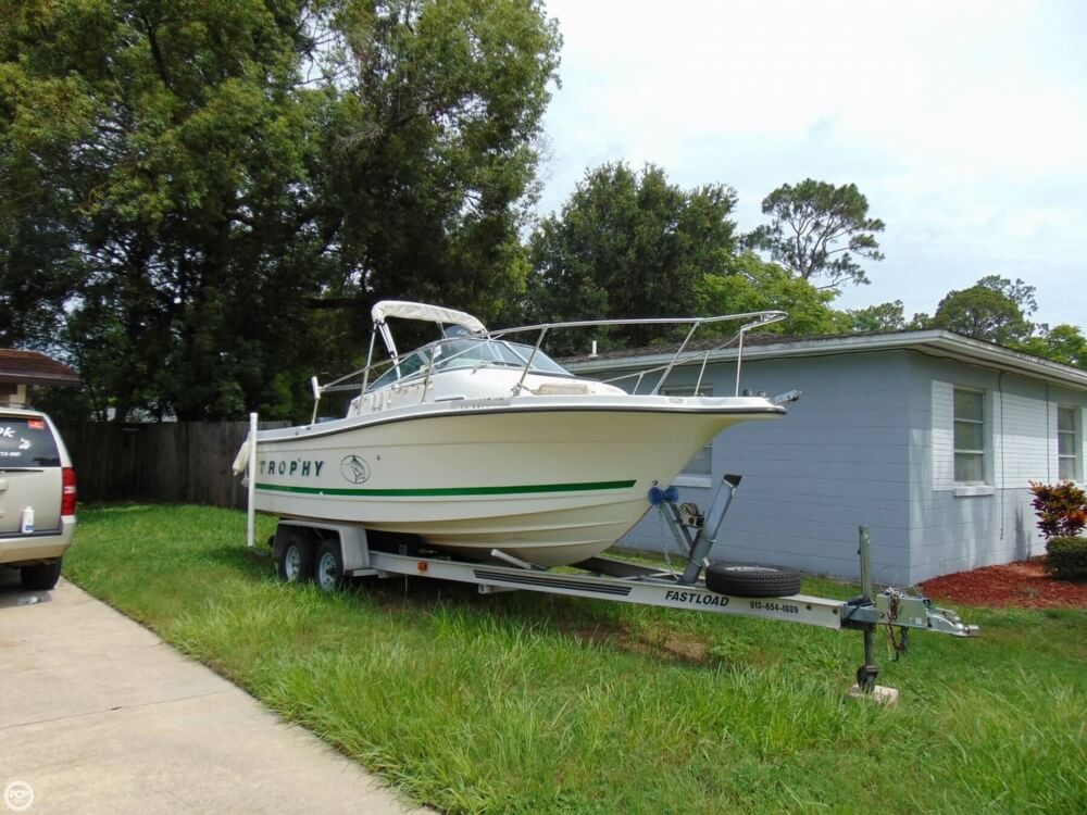 Trophy 2052 Walkaround 2000 Bayliner Trophy 2052 for sale in Jacksonville, FL