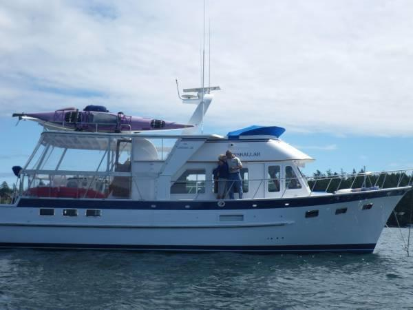 DeFever 49 CPMY Profile - Starboard View
