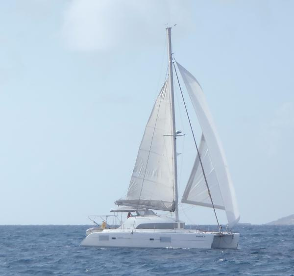 Lagoon 380 S2 Sous Voiles / Under sails