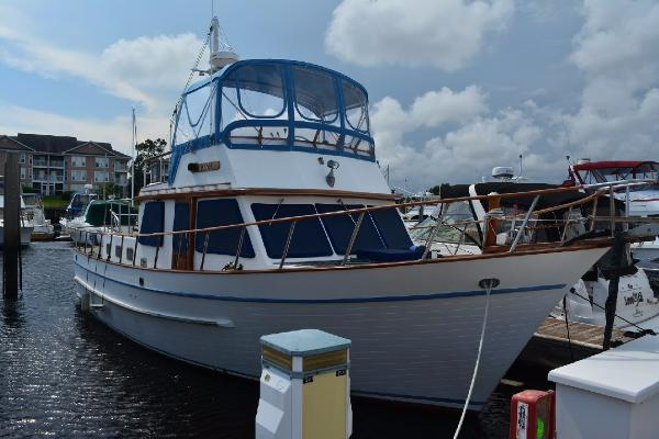 DeFever 41 Trawler Profile