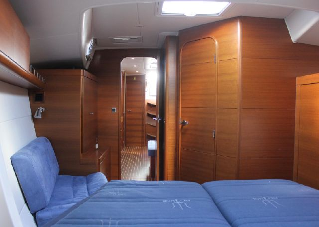 Forward cabin (looking aft)