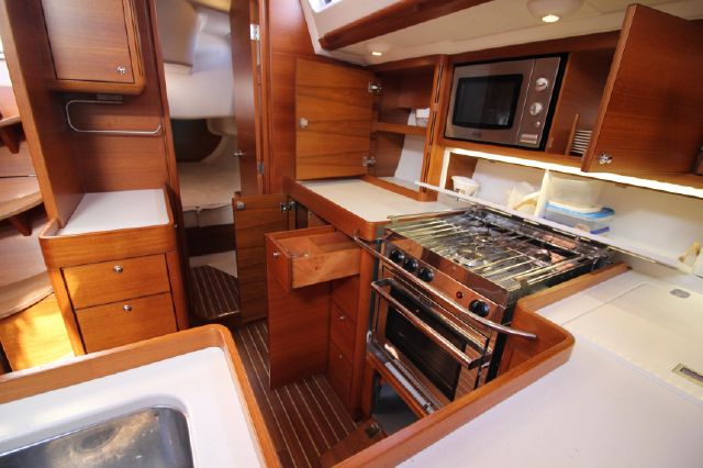 Galley (looking aft)