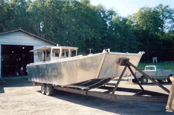 Aluminum Landing Craft New - Built in Oregon