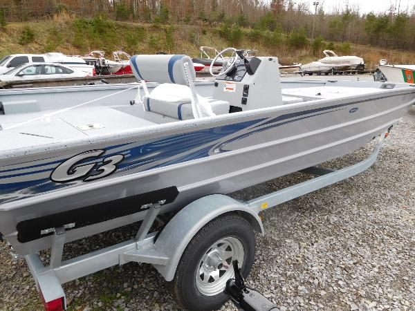 G3 Boats GATOR TOUGH 20 CC DLX