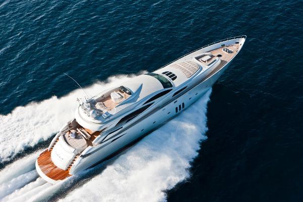 Pershing 115 Kuikila Pershing Cruising