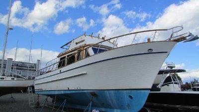 DeFever 41 Trawler Winter mode