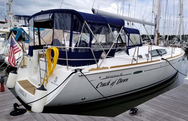 Beneteau 46 2008 Beneteau 46 - Docked with full enclosure