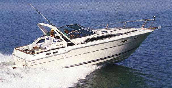 Sea Ray 300 Weekender Manufacturer Provided Image