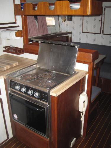 3 burner stove and oven