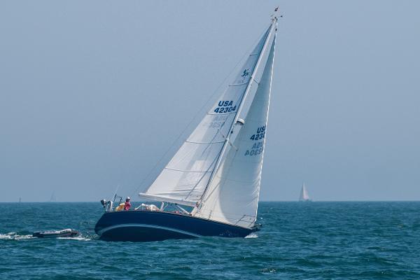 Sabre 36 Under Sail