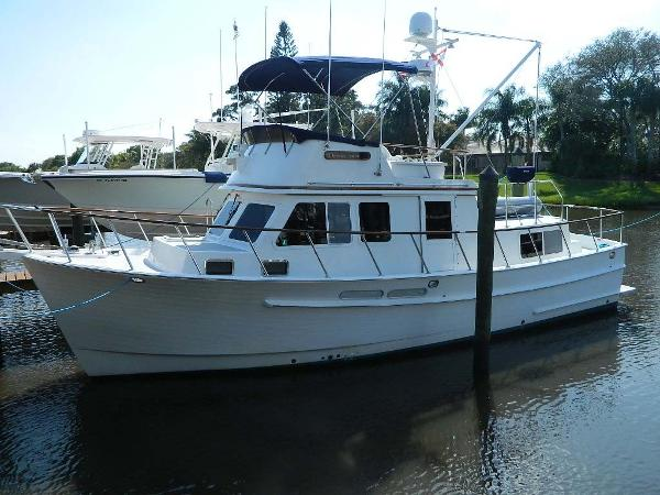 Monk 36 Trawler Profile