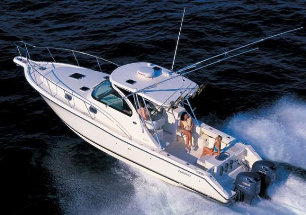 Pursuit 3370 Offshore Manufacturer Provided Image