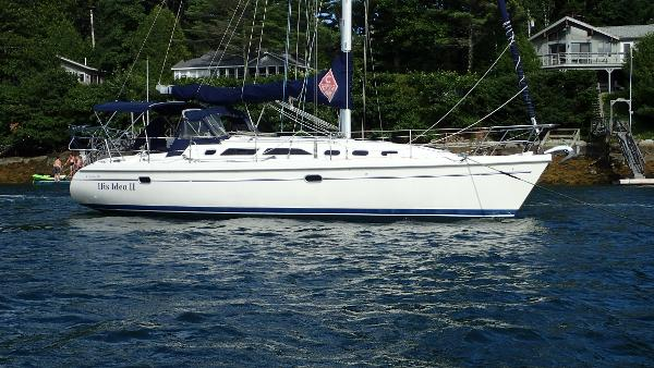 Catalina 380 On Her Mooring