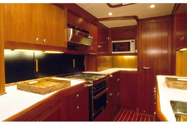Nautor Swan 82 Galley