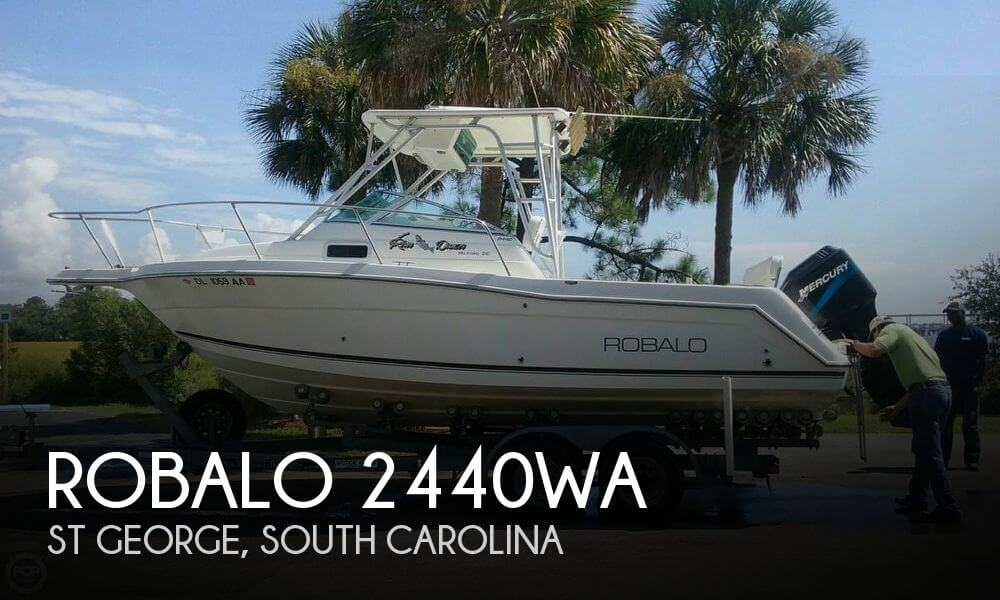 Robalo 2440 Walkaround 2001 Robalo 2440WA for sale in St George, SC