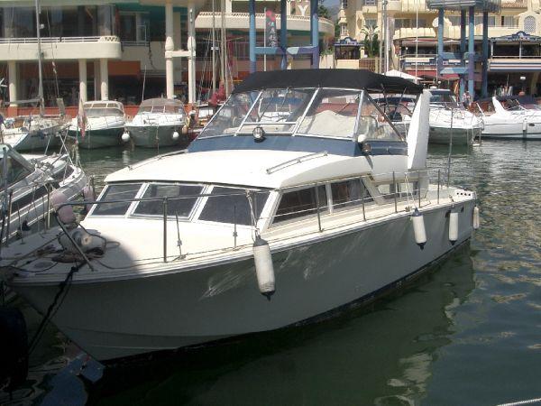 Coronet 32 Oceanfarer wing