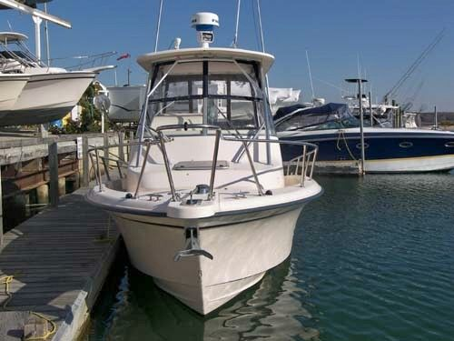 Grady-White 282 Sailfish Bow