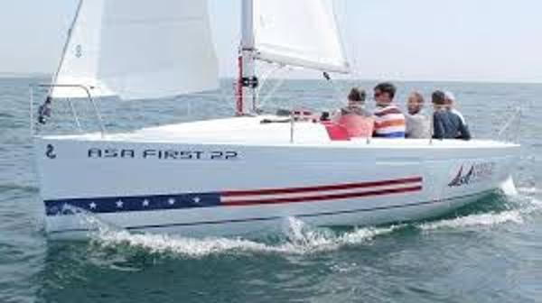 Beneteau First ASA 22 Sistership Sailing 1