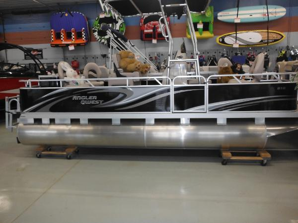 Pontoon qwest angler 818 fish boats for sale for Angler fish for sale