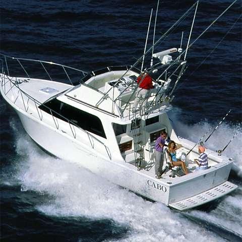 Cabo 35 Flybridge Sportfisher Manufacturer Provided Image