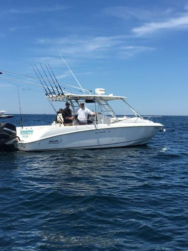 Boston Whaler 320 Outrage Cuddy Cabin