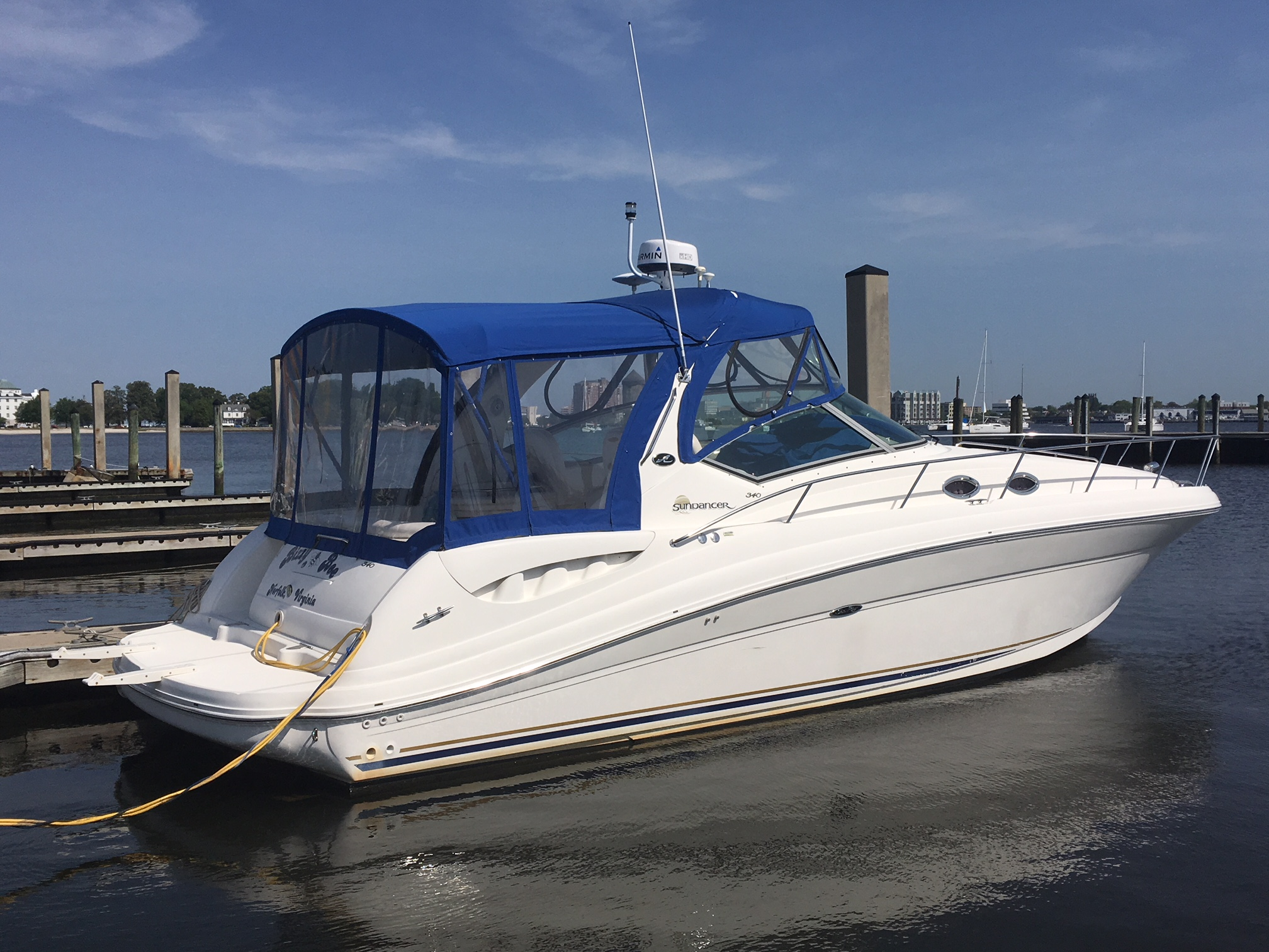 Sea Ray 340 Sundancer w/2015 engines