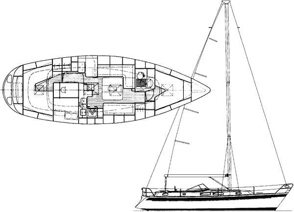 Hallberg-Rassy 36 Manufacturer Provided Image