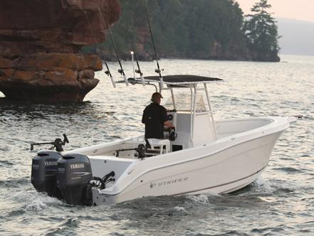 Striper 2605 Center Console Manufacturer Provided Image: Manufacturer Provided Image